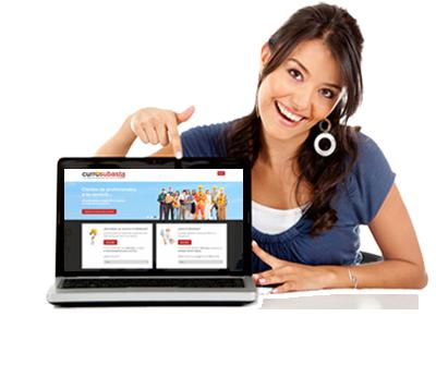 Subastas de servicios: Cada día más usuarios confían en currosubasta.com